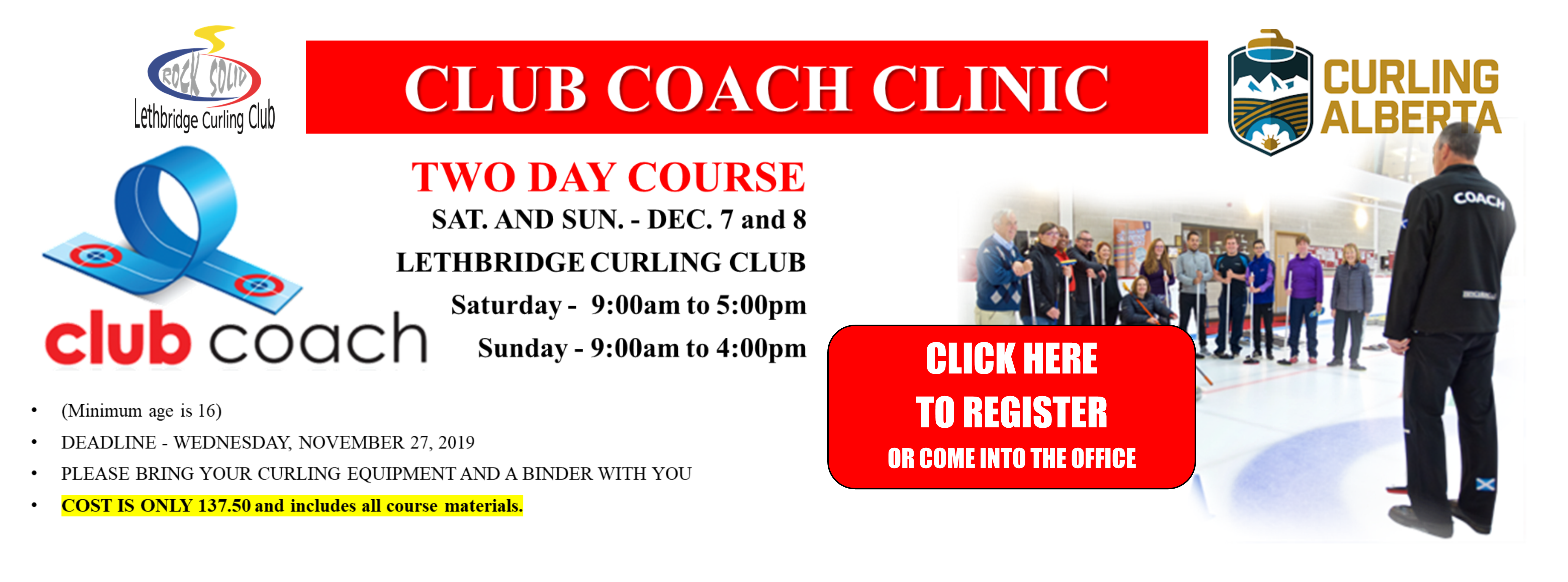 <div id=slideshow_title>Sign up today! - Club Coach Clinic</div> <br><div style='text-align: left; font-size: 18px;'>Click Anywhere to Register!</div>