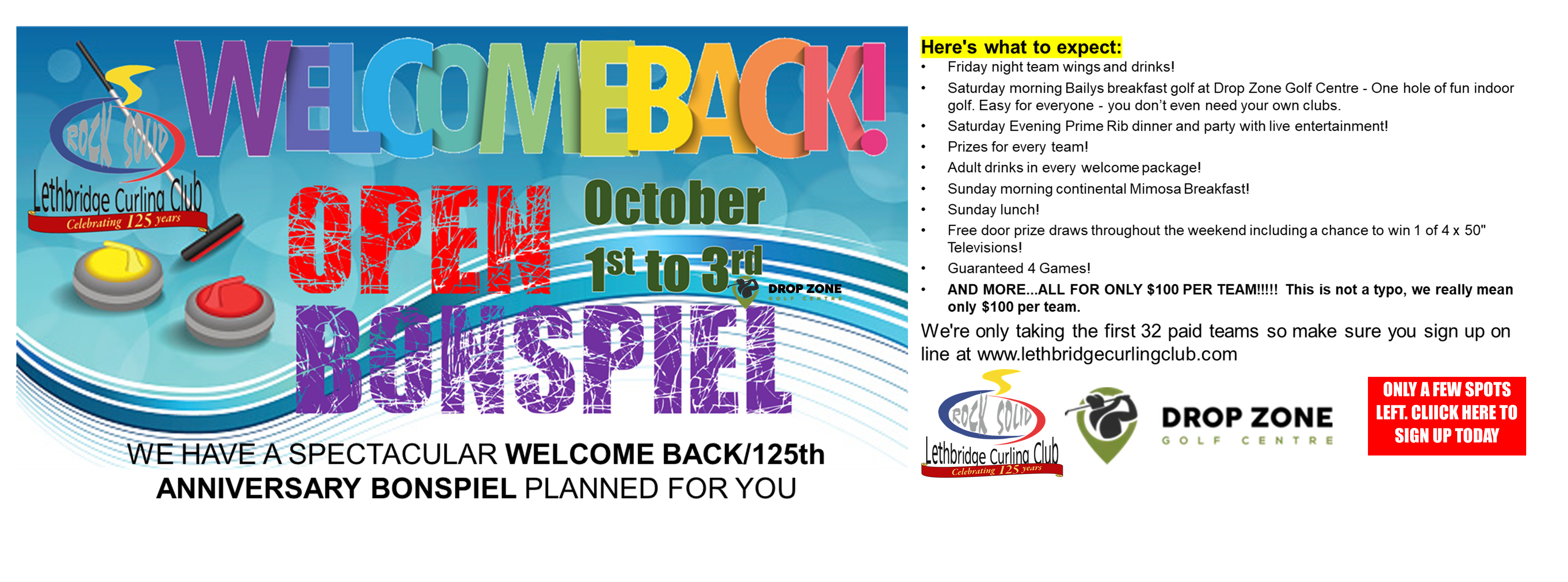 <div id=slideshow_title>WELCOME BACK - OPENING OPEN BONSPIEL</div> <br><div style='text-align: left; font-size: 18px;'>Get back into the swing of things!</div>