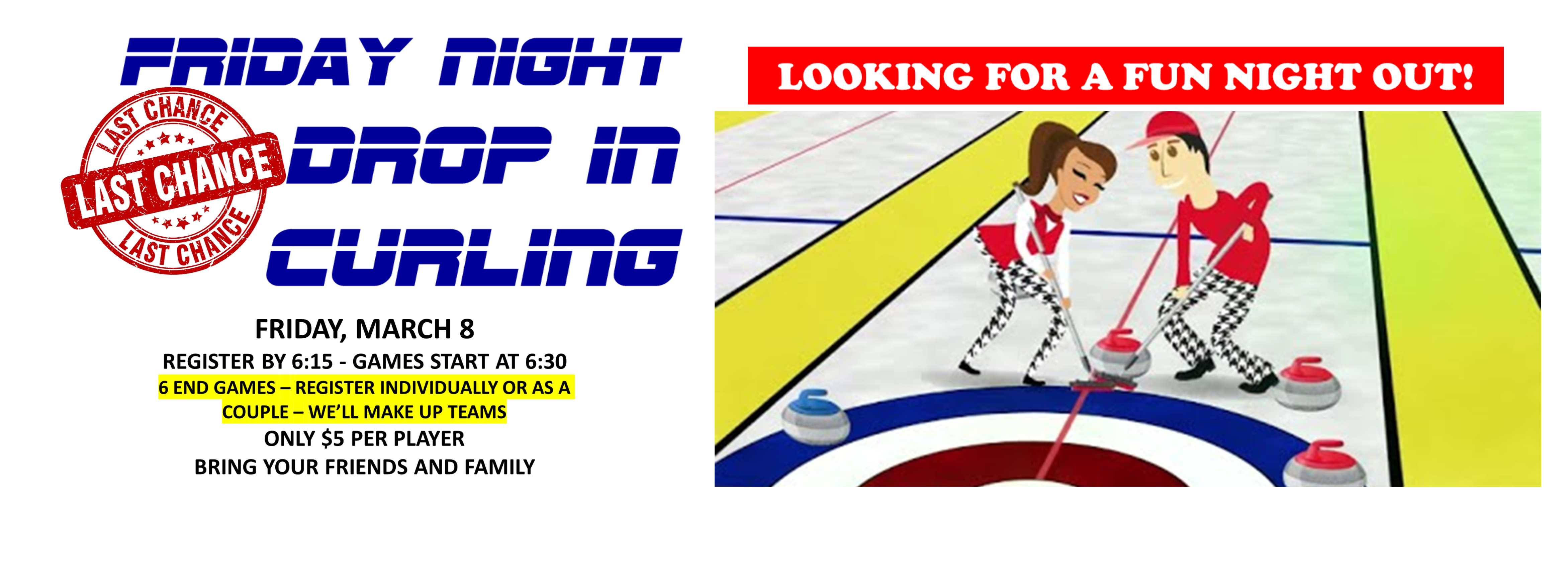 <div id=slideshow_title>Drop In Curling Returns</div> <br><div style='text-align: left; font-size: 18px;'>2 more Dates this year</div>